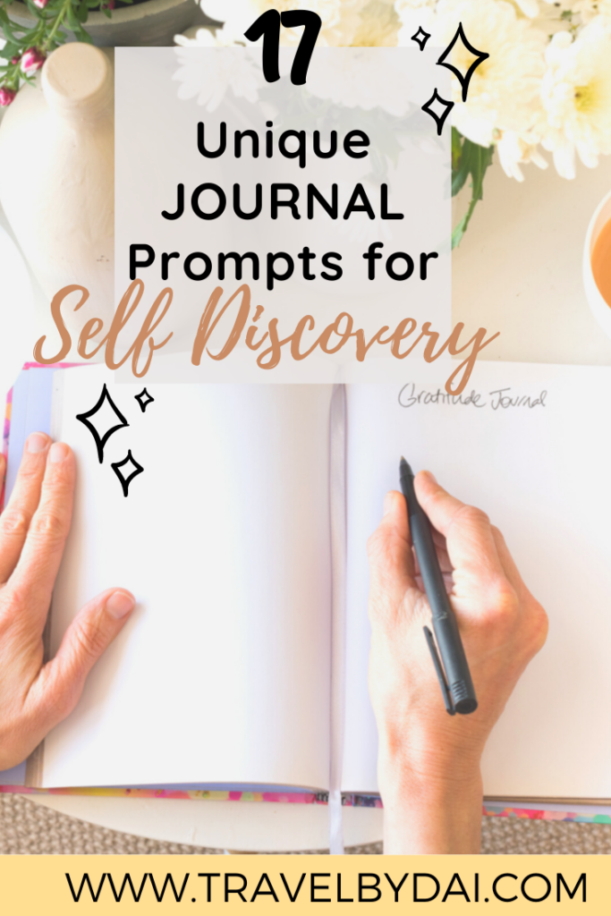 17 Wildly Unique Journal Prompts For Self-Discovery